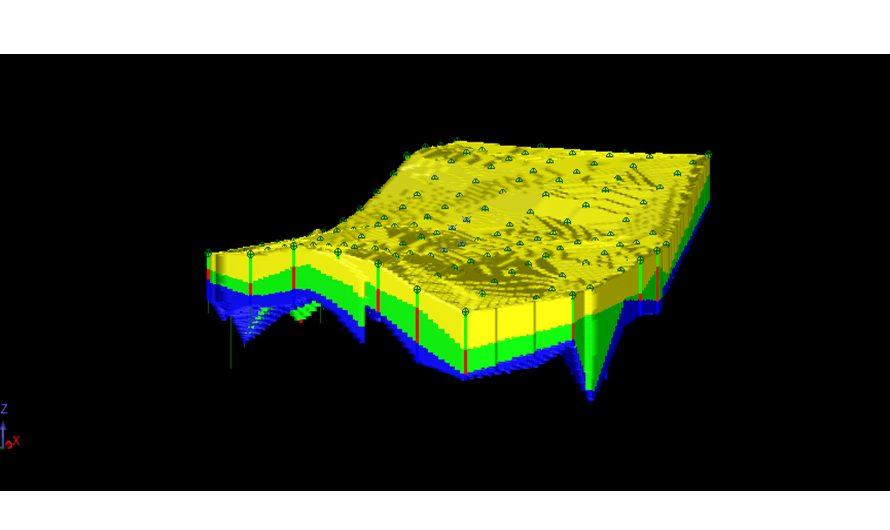 Modélisation géologique 3D